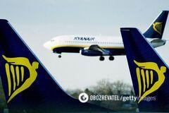 Італія пригрозила заборонити польоти Ryanair через порушення карантину