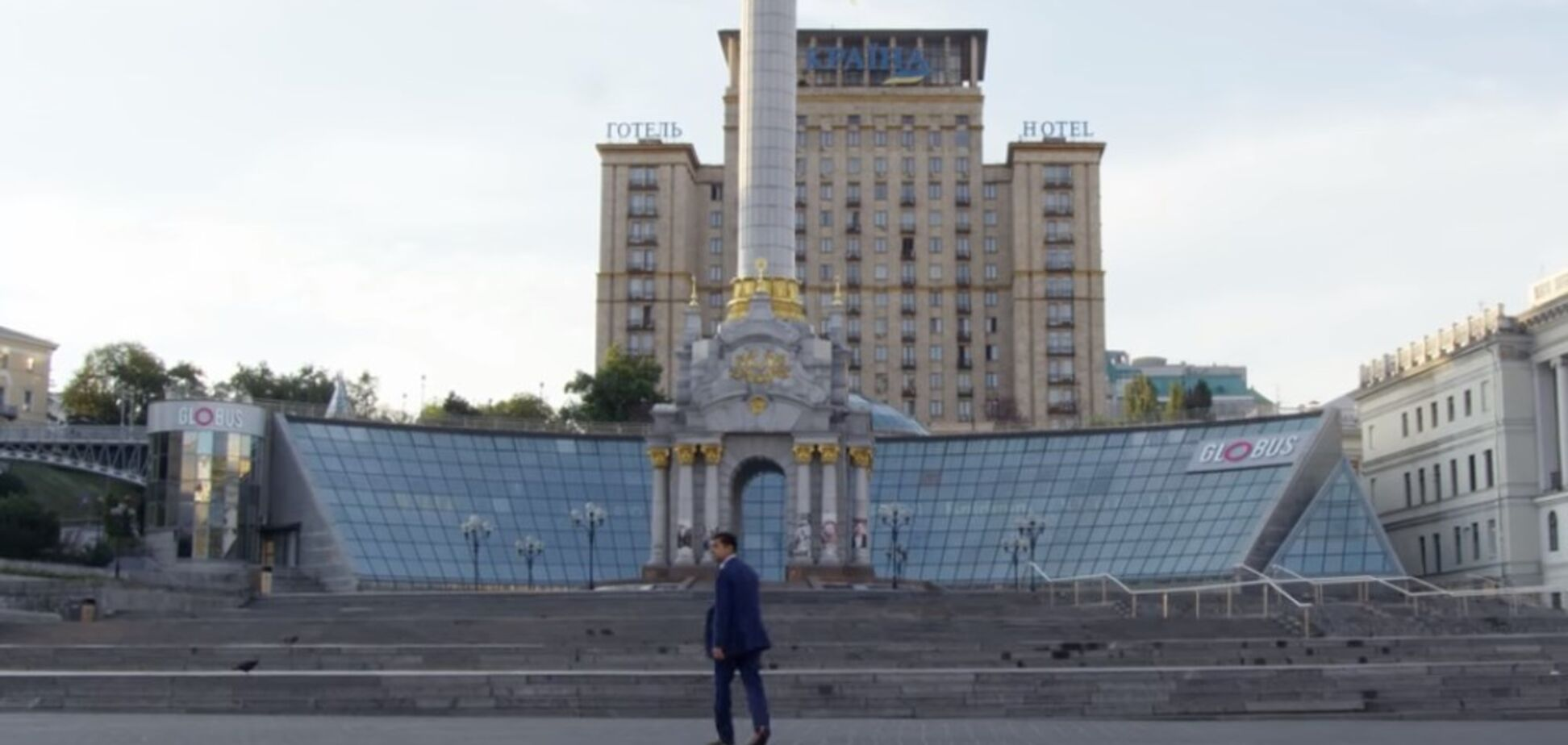 В сети вспомнили 'пророческое' видео с Зеленским и безлюдным Киевом