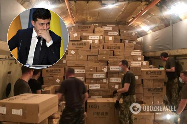 Украина второй раз отправила в Китай самолёт