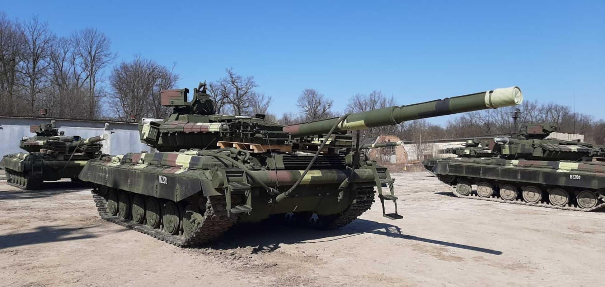 ВСУ получили новую партию танков от 'Укроборонпрома'