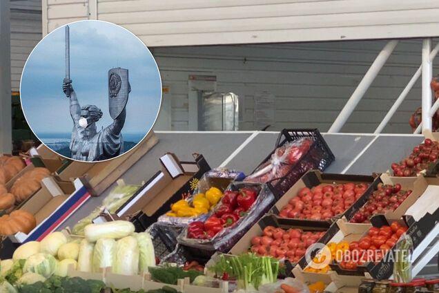 """Крупнейший рынок Киева """"не сдался"""" карантину"""
