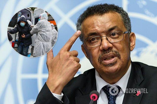 Глава ВОЗ призвал страны не ограничиваться самоизоляцией граждан в борьбе с коронавирусом