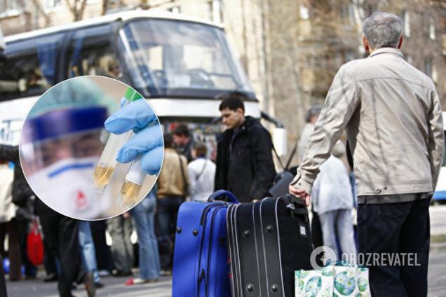 Прибулі з Польщі 12 жителів Дніпропетровщини втекли від карантинного контролю