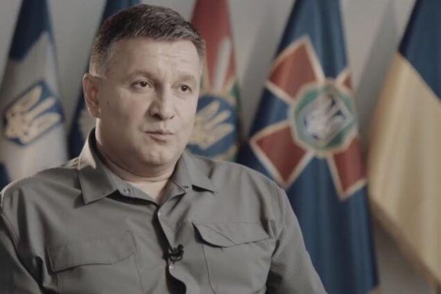 Арсен Аваков. Кадр из видео