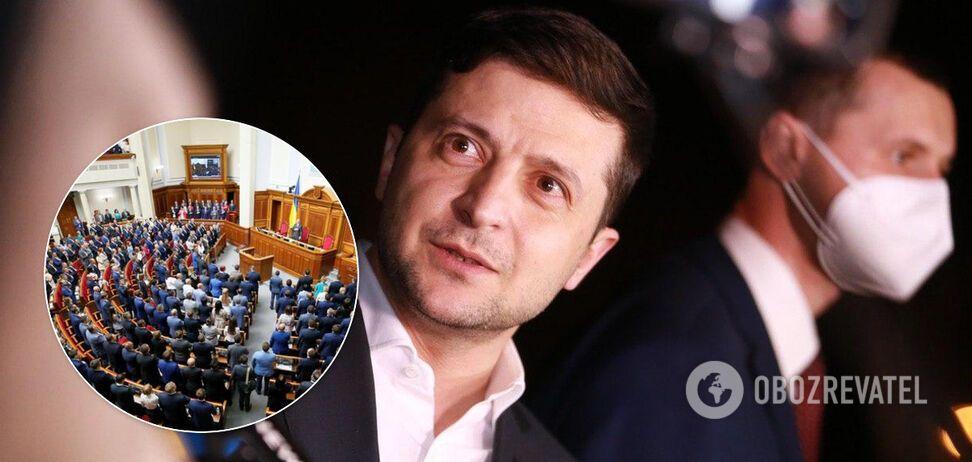 Зеленский срочно обратился к Раде из-за законопроекта о поддержке культуры