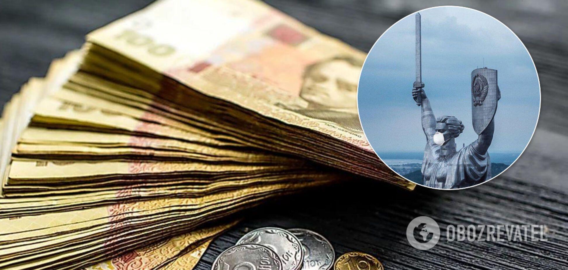 Киев из-за коронавируса решил радикально изменить направления расходов. Иллюстрация