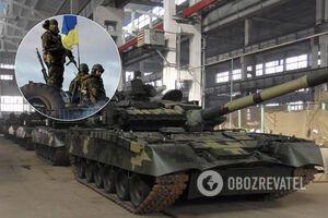 ЗСУ посилили захист на передовій новими танками. Фото