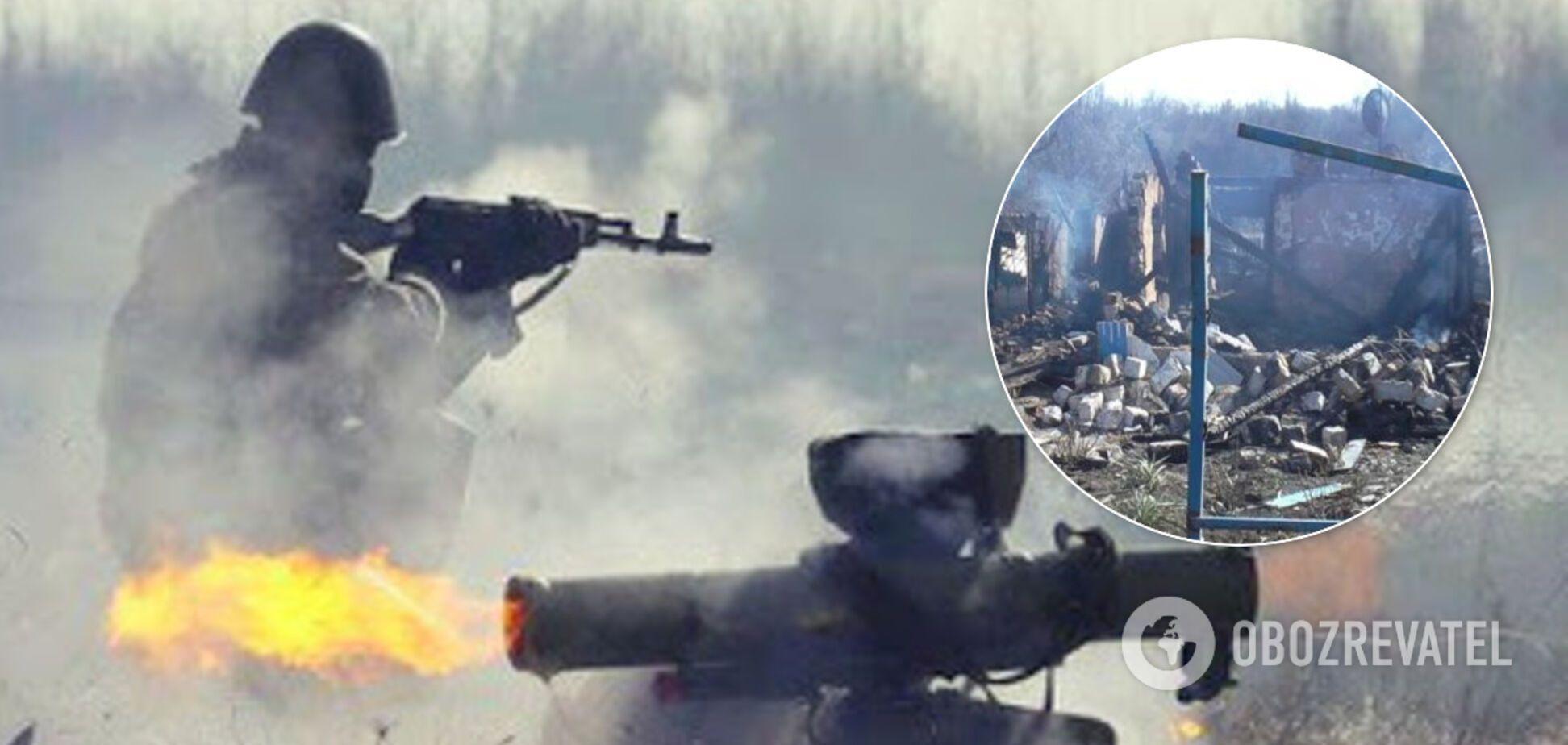 Террористы ранили мирную жительницу на Донбассе