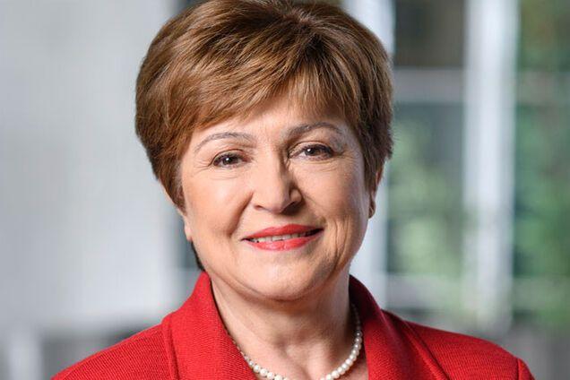 Глава МВФ Кристалина Георгиева
