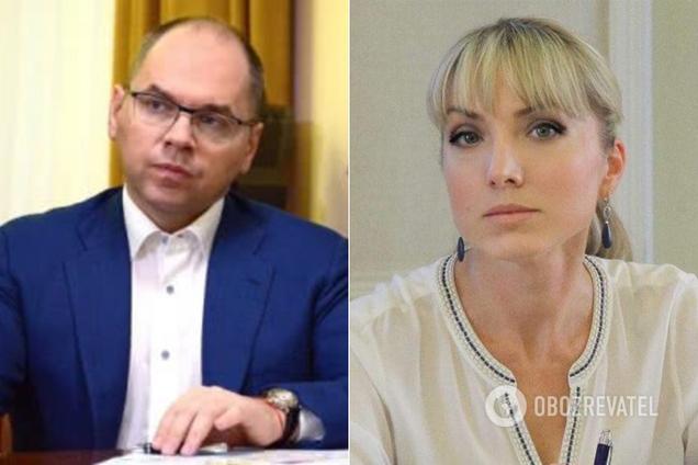 Максим Степанов и Ольга Буславец