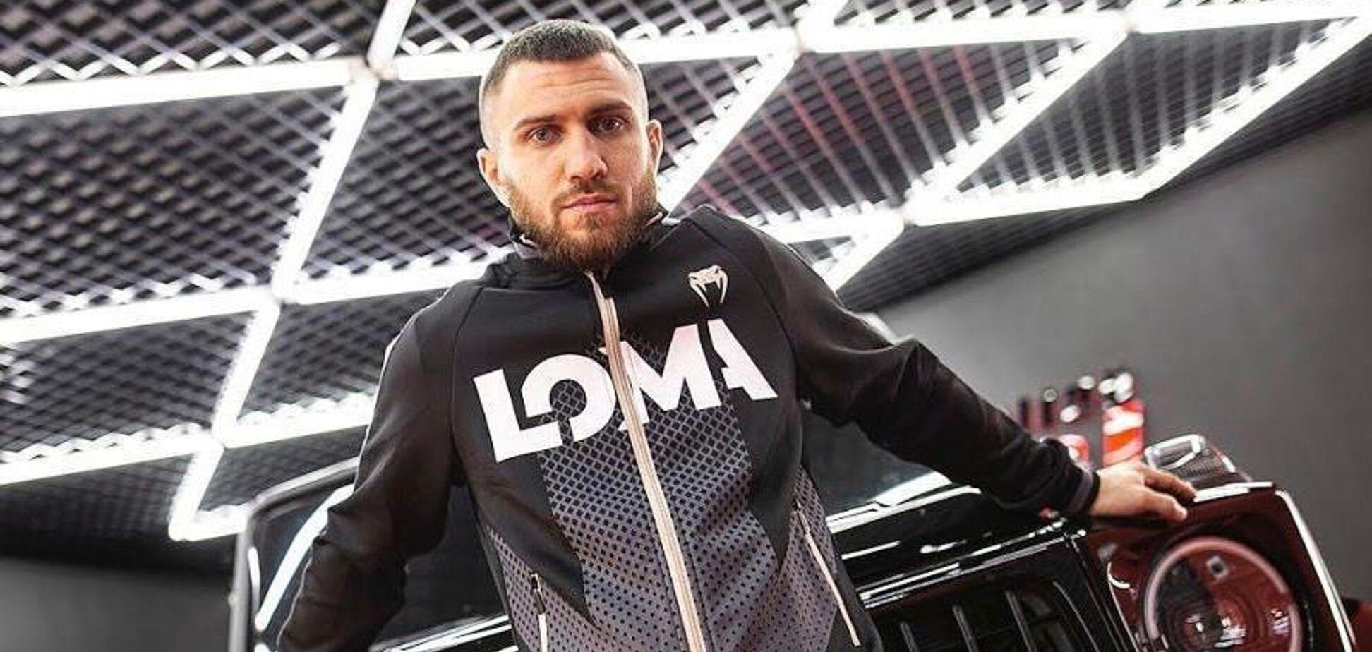 Ломаченко извинился за свой совет, как уберечься от коронавируса