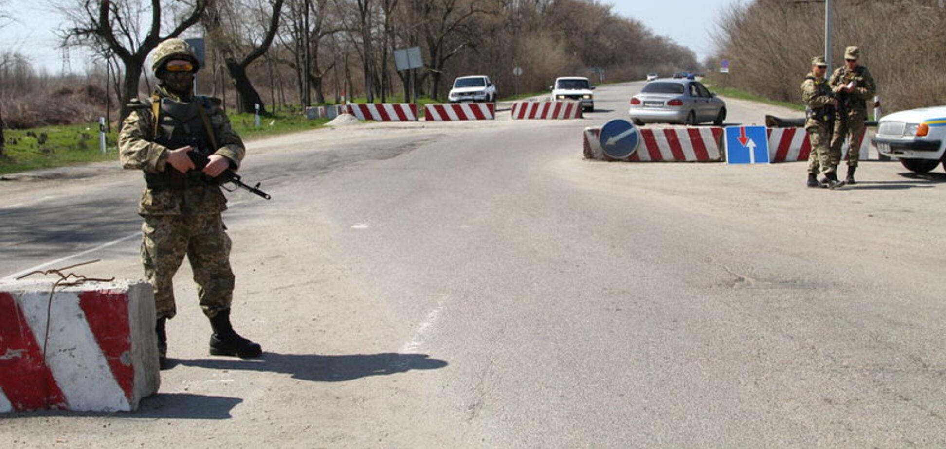 Блокпосты в Одессе