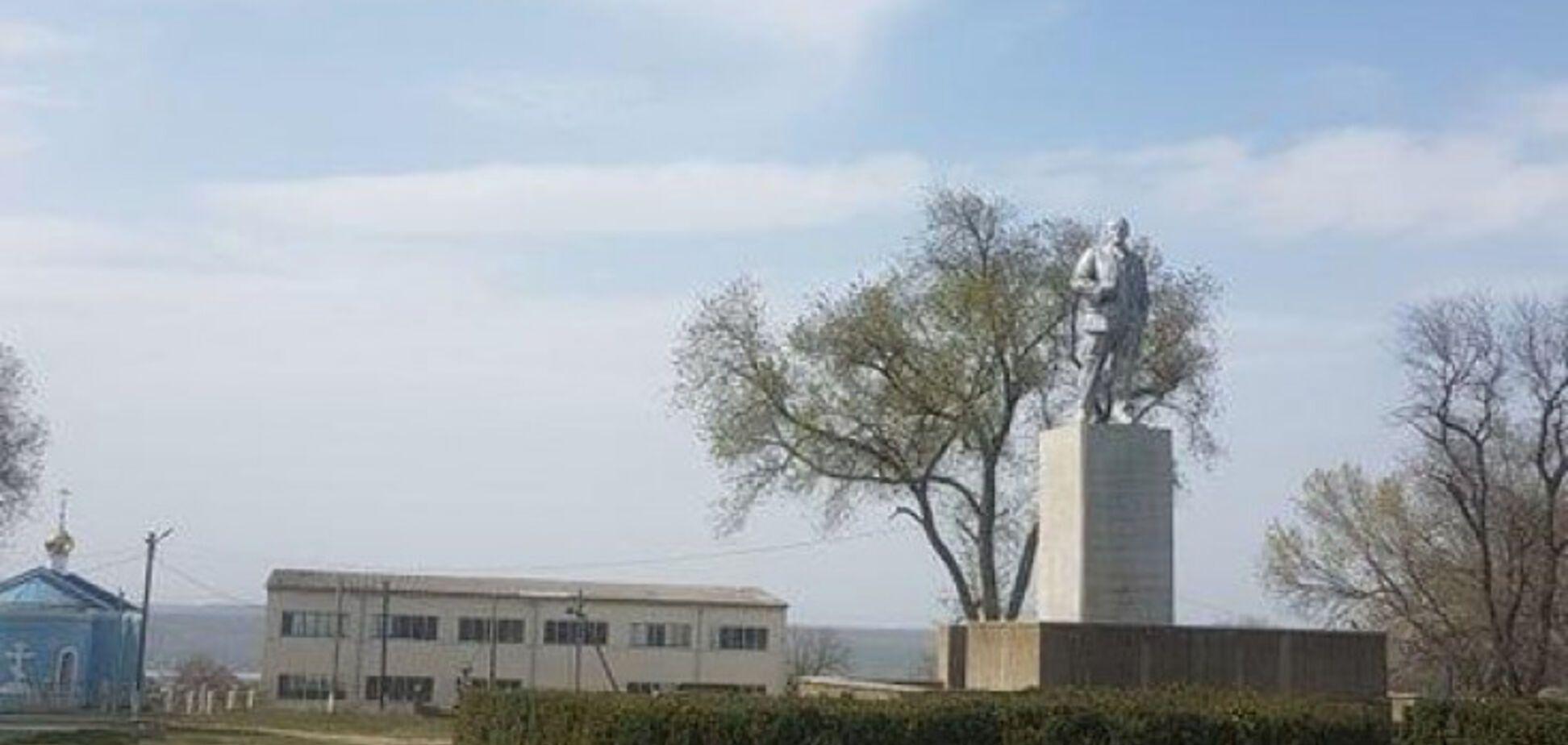 На Одещині відновили пам'ятник Леніну