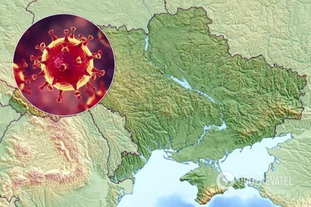 Названа единственная область Украины, где нет коронавируса