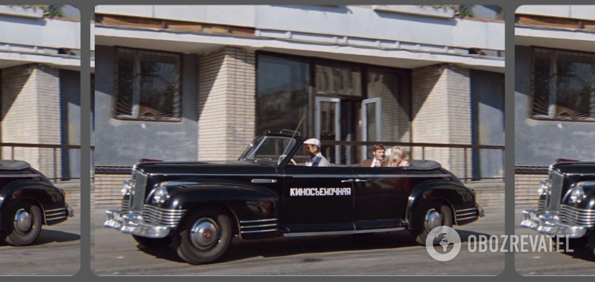 Найнезвичайніші автомобілі в радянському кінематографі