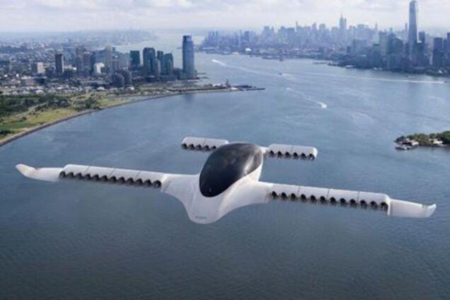 Электрическое аэротакси Lilium Jet