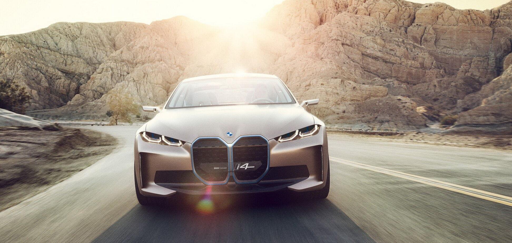 BMW i4: конкурент самой дешевой Tesla представлен официально