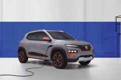 Renault показал бюджетный электрический кроссовер