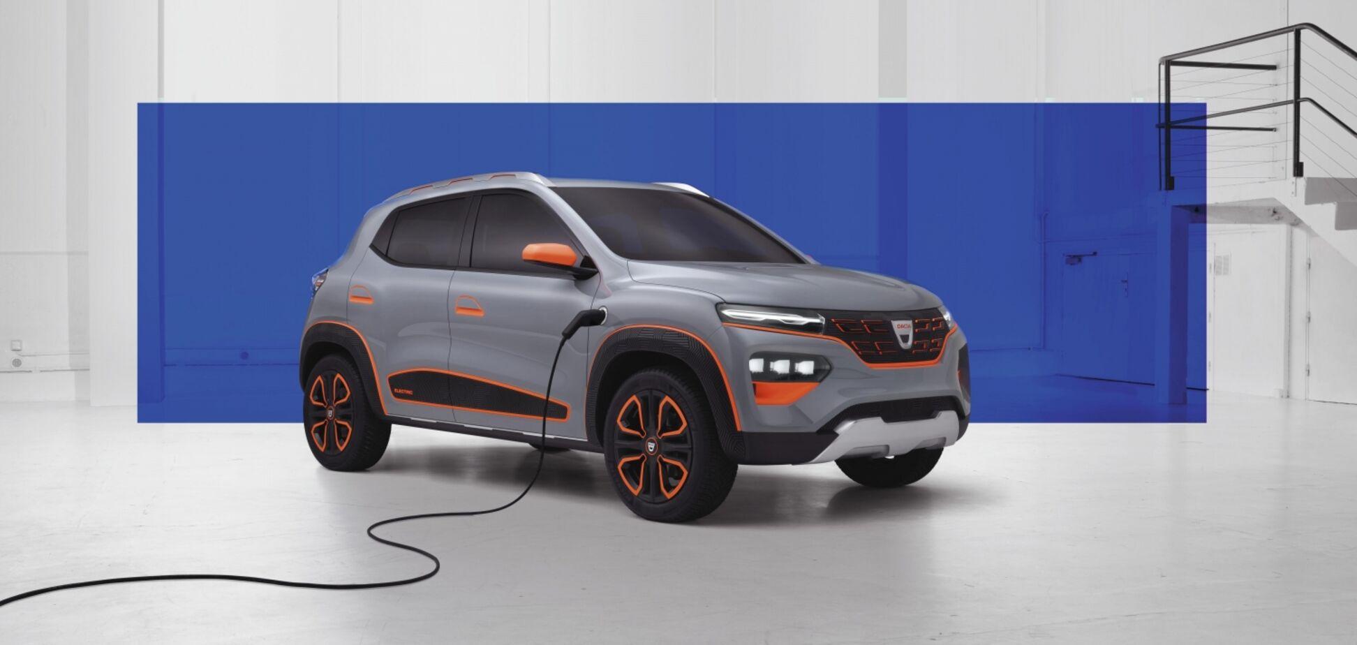 Renault показав бюджетний електричний кросовер