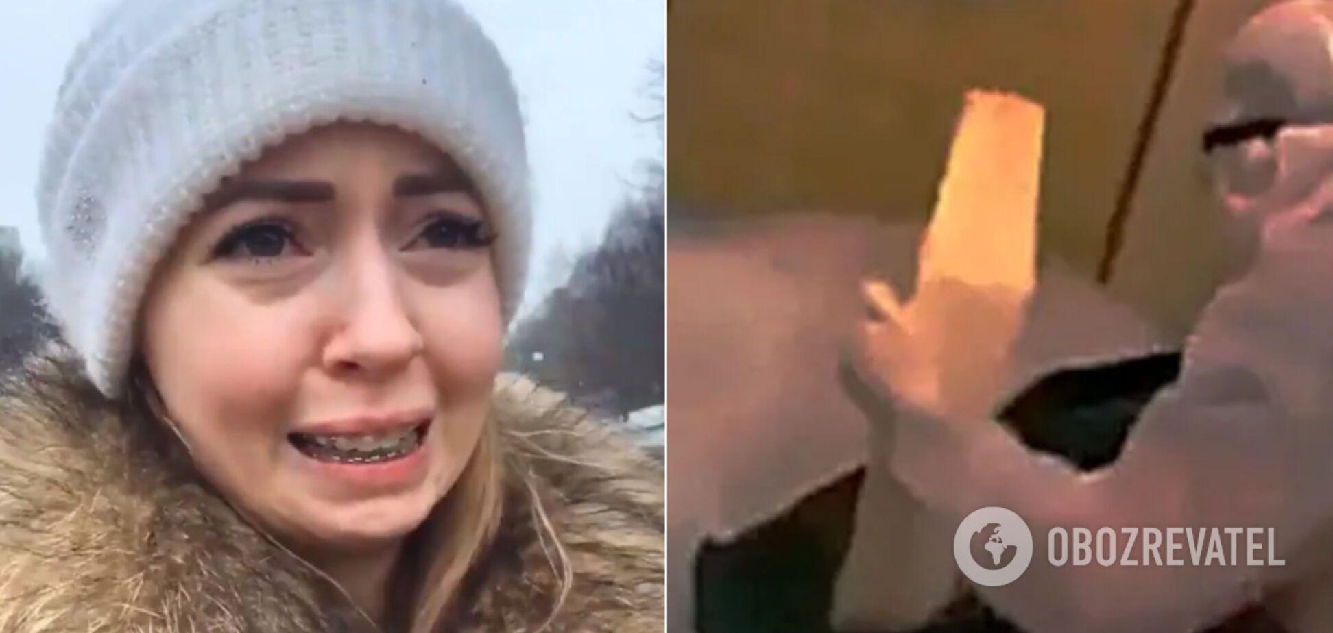 Скандальная блогерша Диденко отличилась слезливым видео: в сети не оценили