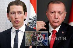 Австрія звинуватила Туреччину в 'атаці біженцями' на країни ЄС