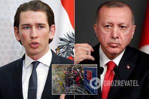 Австрия обвинила Турцию в 'атаке беженцами' на страны ЕС