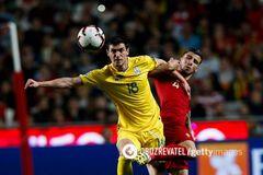 Роман Яремчук в матче против сборной Португалии