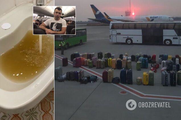 Українці, які прилетіли з Балі, відмовляються виходити з літака та вимагають самоізоляції