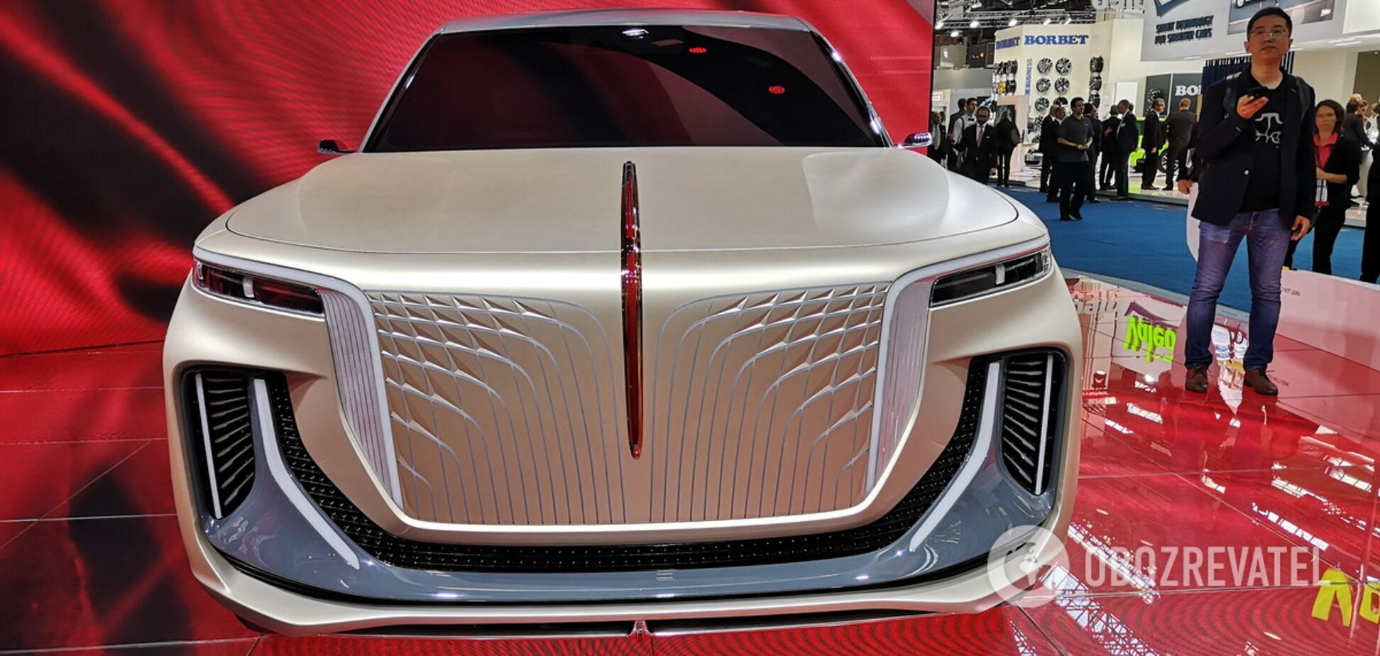 Китайський конкурент BMW X7 буде електричним
