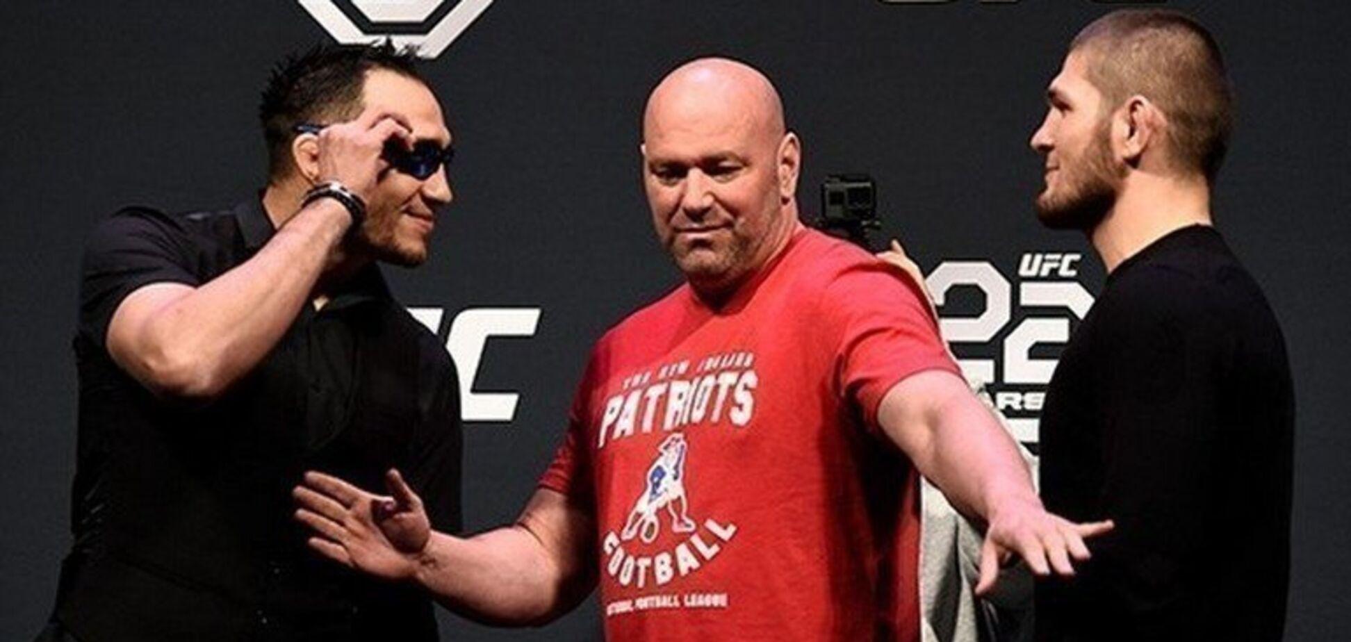 Хабіб сховався в Росії: Фергюсон присоромив чемпіона UFC напередодні бою