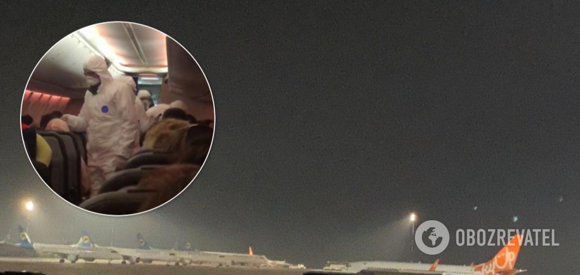 В 'Борисполь' прибыли два самолета с украинцами из Катара: люди оказались 'в плену'. Эксклюзивные кадры