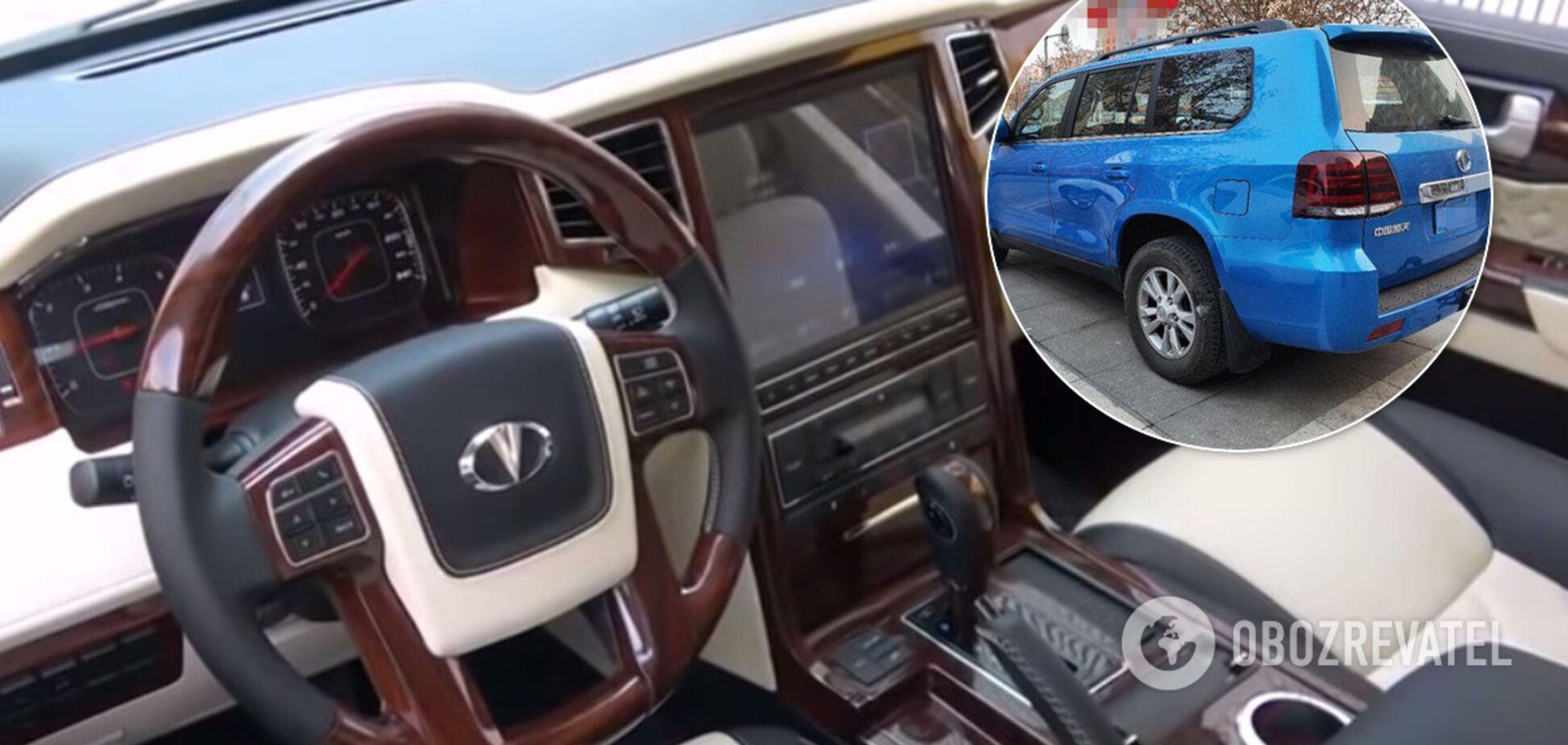 Китайскую подделку Toyota LC 200 показали живьем