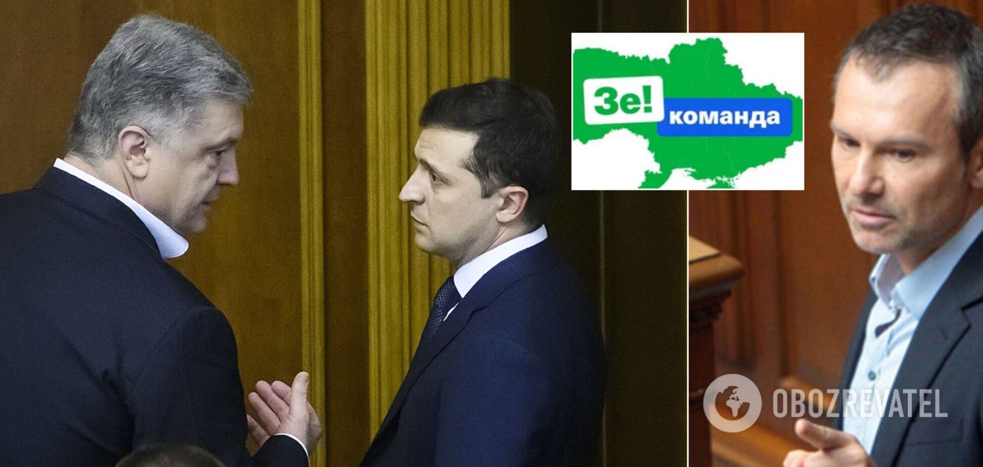 Кризис в 'Слуге народа': как Зеленский подружился с 'ЕС' и 'Голосом', чтобы принять законы для МВФ