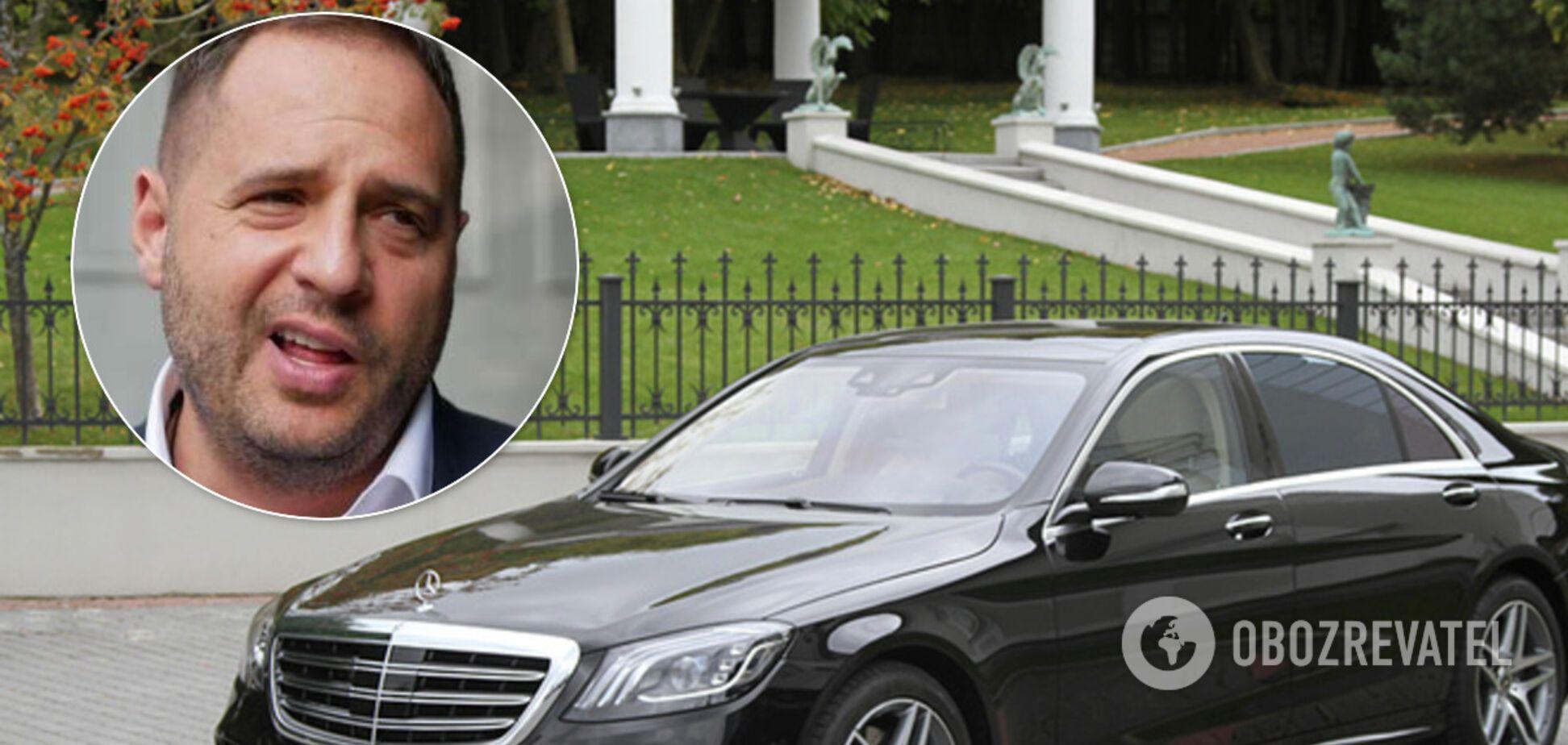Єрмак виправдався за новий Mercedes за 3,2 млн