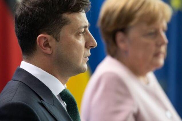 Зеленский созвонился с Меркель: о чем говорили