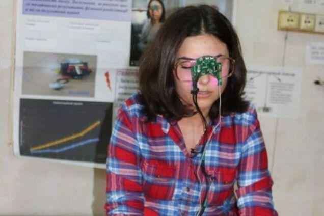 Украинская студентка разработала прибор для людей, переживших инсульт