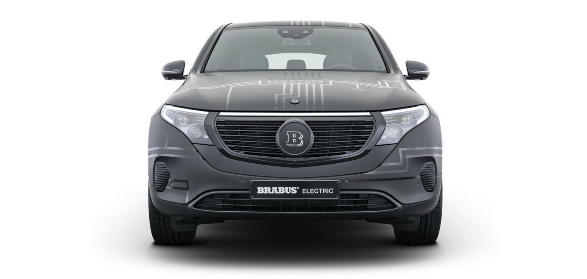 Brabus улучшил электрический кроссовер Mercedes