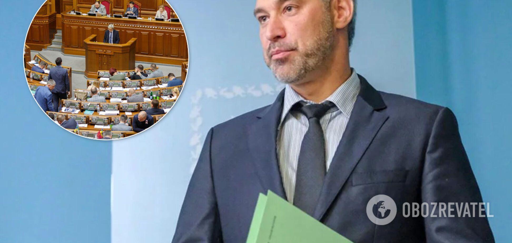 Рада назначила внеочередное заседание, чтобы уволить Рябошапку