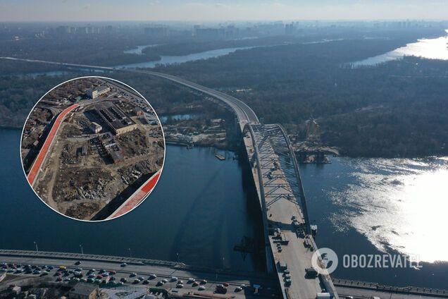 В Киеве в этом году запустят Подольский мост: что уже построено и кто против