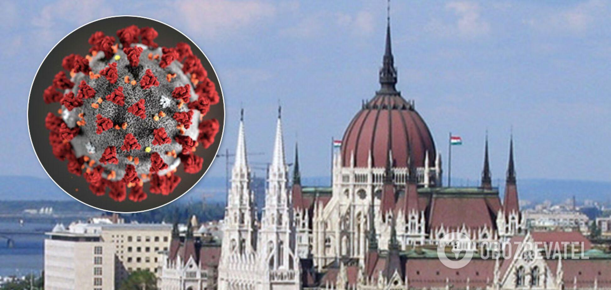 В Угорщині вперше підтвердили коронавірус