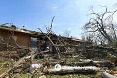 В Теннеси торнадо убил 25 человек: фото и видео бедствия