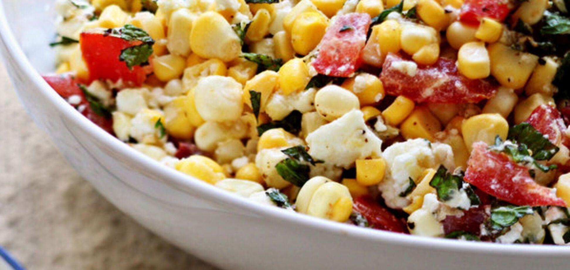 Рецепт найсмачнішого овочевого салату з черемшею