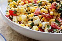Рецепт вкуснейшего овощного салата с черемшой