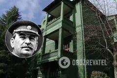 В сети показали, как выглядела 'невидимая' дача Сталина в Сочи. Фото
