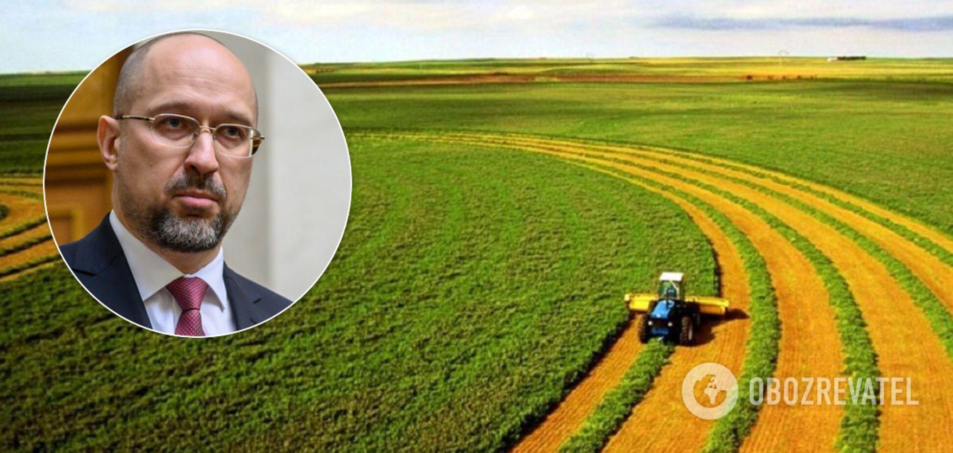 Прем'єр Шмигаль підтримав референдум про продаж землі іноземцям