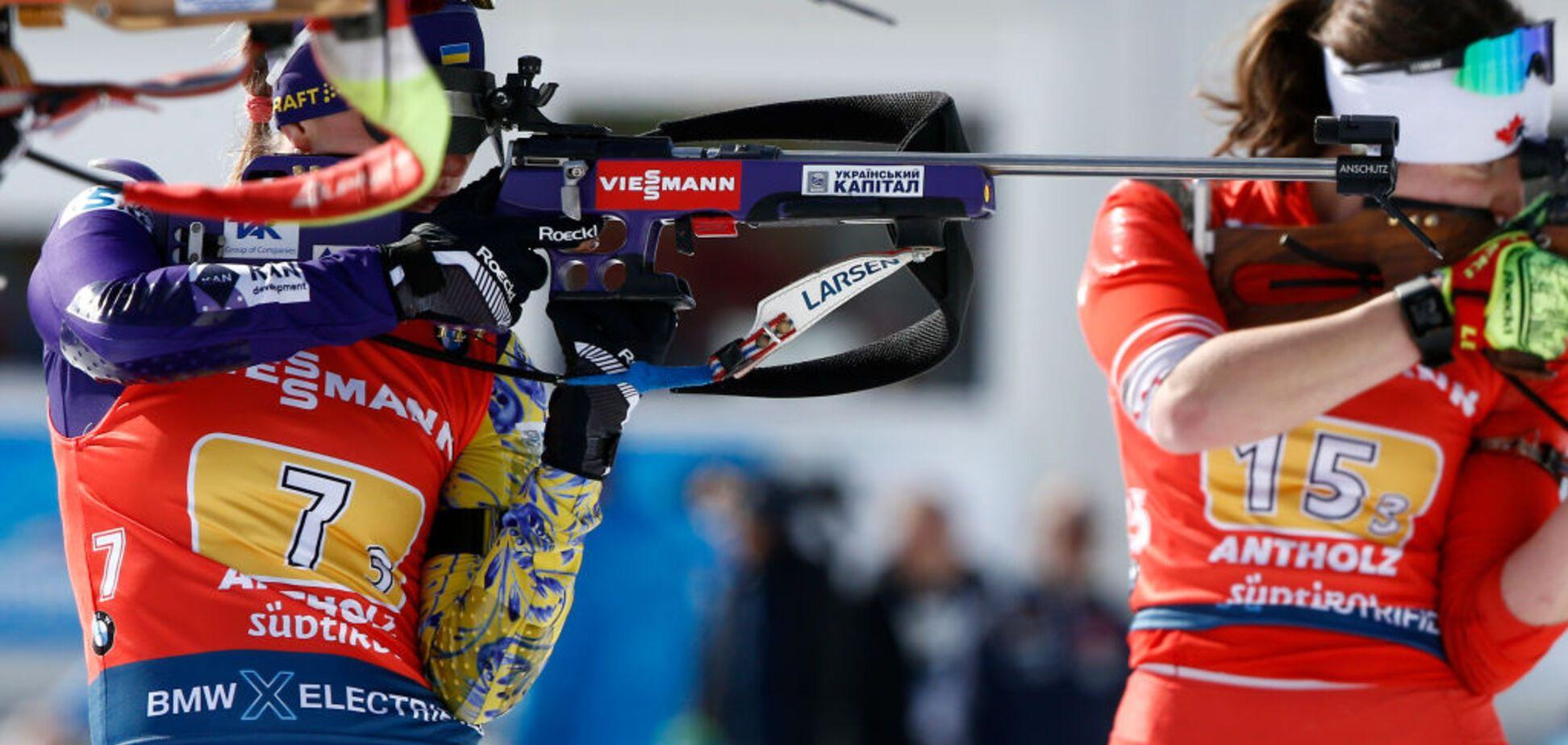 Україна невдало виступила у найнезвичайнішiй гонці Кубка світу з біатлону