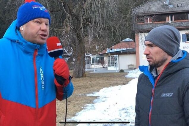 Дмитрий Губерниев и Александр Логинов
