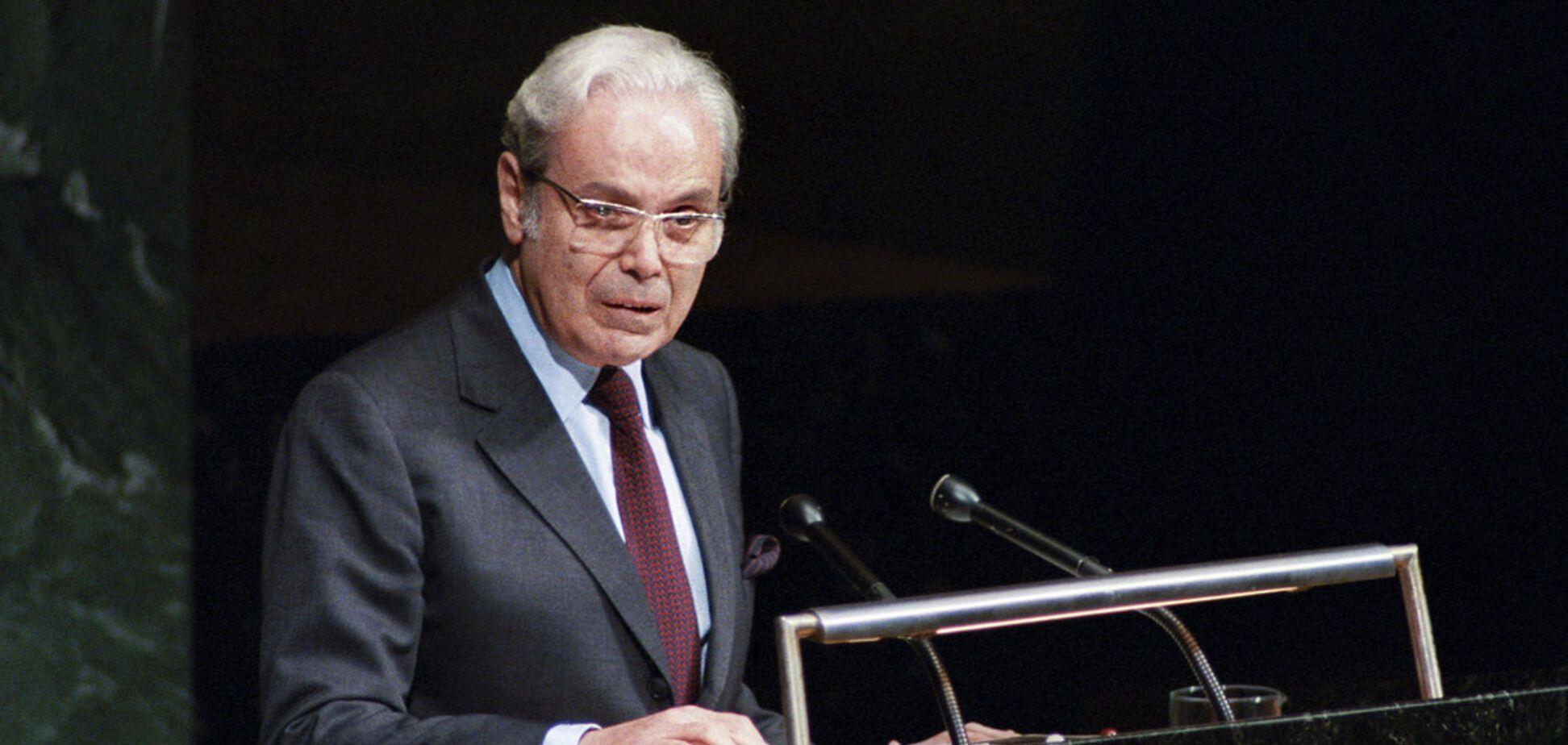 Умер бывший генсек ООН Хавьер Перес де Куэльяр