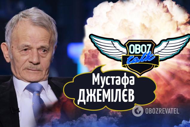 Мустафа Джемилев Путину: 'Убирайся с нашей земли'. Это единственное, что я от него хочу