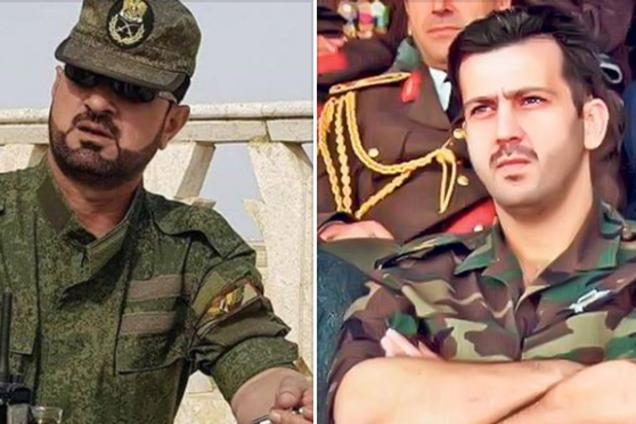 Сухейль аль-Хасан и Дин Махер аль-Асад